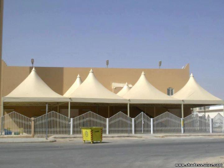 مظلات ساحات المساجد