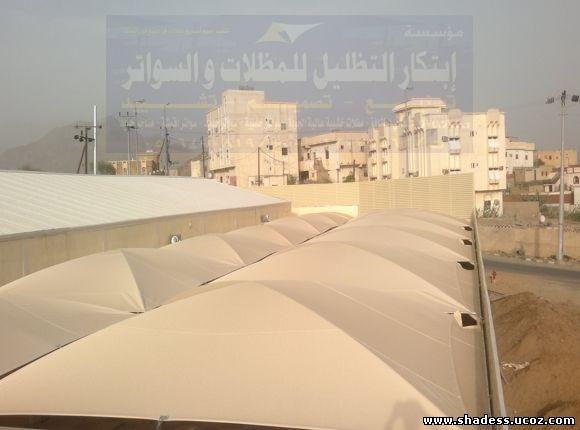مشاريع مظلات مواقف السيارات (اقوى
