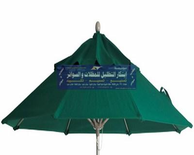 مظلات الفايبر للمنتزهات