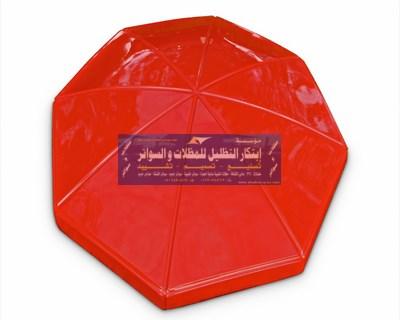 اشكال الفايبر جلاس مظلات