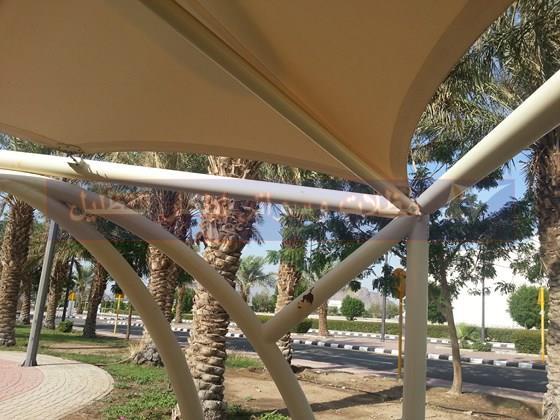 مواصفات مظلات السيارات للجامعات