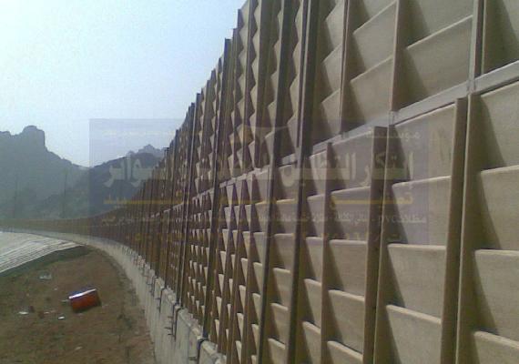 مشروع عمل سواتر في كبري قربه حائل