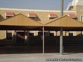 مظلات خشب مشاريع المظلات للسيارات