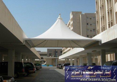 مظلات مداخل البوابات للمدارس والجامعات