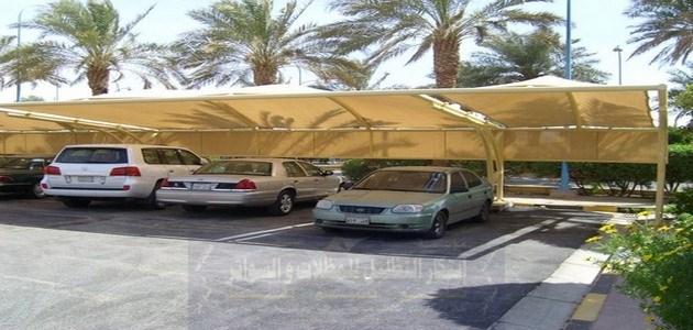 مظلات سيارات كابولي بولين ايثلين